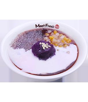 紫芋霜雪- 疗芋系甜品